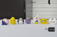 choose your needle felt adventure time character by FluffyParcel