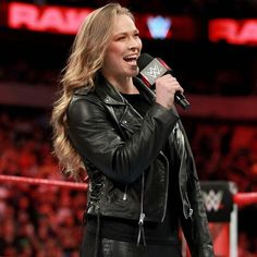 """Rowdy"" Ronda Rousey gets into an altercation with Dana Brooke three weeks before The Show of Shows. Ronda Rousey Wwe, Ronda Jean Rousey, Ronda Rousey Wallpaper, Wrestlemania 29, Dana Brooke, Rowdy Ronda, Catch, Ufc Women, Wwe Girls"