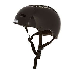 TSG Skate/BMX Half Shell Skateboard Helmet   Injected Colors with Hardshell Construction and EPS Foam  Hardshell Construction combines injection molded outer shell with EPS inner shell  Tuned Fit System includes extra pads to help you get the perfect fit  13 air vents to help keep you cool at all times  Ultra Light, without sacrificing your safety