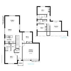 59 best Floor plans less than 300sq images on Pinterest | Floor ...