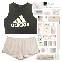 """""""booty"""" by www-purrtydino-org ❤ liked on Polyvore featuring 3.1 Phillip Lim, adidas, H&M, Korres, Darphin, Marimekko, Le Labo, Mamonde, Tory Burch and Davines"""
