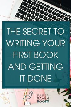 What's the secret to actually writing your first book and getting it done? Click through to find out! write a book writing advice finish the book self-publishing Writer Tips, Book Writing Tips, Writing Quotes, Writing Help, Writing Skills, Writing Prompts, Start Writing, Writing Ideas, Writing Humor