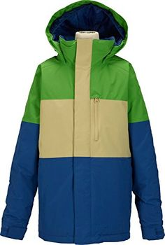 Burton Symbol Jacket Boys Slime Block Large * You can find out more details at the link of the image.(This is an Amazon affiliate link)
