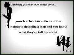 irish dancer: