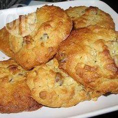 Biscuits au gruau, au beurre d'arachide et aux pépites de chocolat @ qc.allrecipes.ca