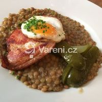 Slovak Recipes, Czech Recipes, Ethnic Recipes, Lentil Recipes, Lentils, Baked Potato, Risotto, Food And Drink, Yummy Food