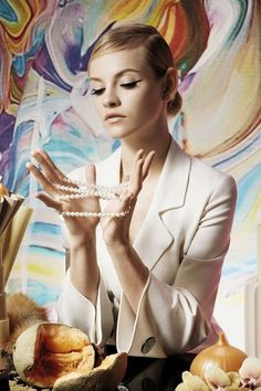 """""""Charms and Talismans"""" Ginta Lapina for Le Monde France March 2015"""