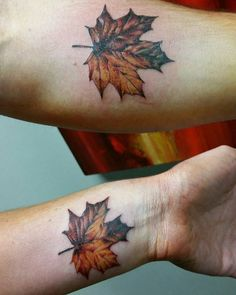 Macoy made these little leaves on a couple passing through SLC.  See more on Instagram @mactatty  SLC Ink Tattoo 1150 South Main Street Salt Lake City, Utah (801) 596-2061 slcinktattoo@gmail.com www.slctattoos.com  #slc #mapleleaf #mapleleaftattoo #tattoo #slcink #utahtattoo #utahtattoos #saltlaketattoo #slctattooartists #utahartist #saltlakecitytattoo #slctattoo #slctattooartist #saltlaketattoos #slctattoos #slctattooconvention #saltlakecitytattooconvention #saltlaketattooconvention…