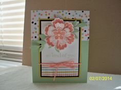 Stampin' Up! SAB 2014 Sweet Sorbet dsp, Occasions catalog Petite Petals, Mixed Bunches, Flower Shop, pansy punch