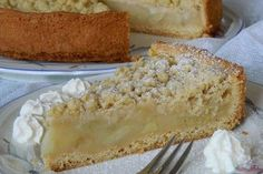Apfelmus - Vanillepudding - Kuchen