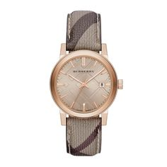 Burberry Smoke Check Strap Watch, Women >>> Special product just for you. Burberry Watch, Burberry Plaid, Burberry Women, Plaid And Leather, Nordstrom, Check Fabric, Rose Gold Watches, Rose Gold Jewelry, Gold Jewellery
