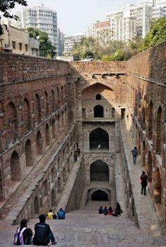 National Capital Territory of Delhi Photo: Agrasen Ki Baoli - Ancient Step Well