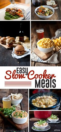These are 14 of the most flavorful and easiest slow cooker recipes! The creamiest mac and cheese and tender sliders ever. Recipes here: http://www.ehow.com/list_12340218_9-slow-cooker-recipes-easy-weeknight-meals.html?utm_source=pinterest.com&utm_medium=referral&utm_content=freestyle&utm_campaign=fanpage