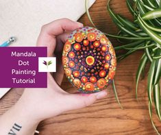 You'll be amazed when you create this beautiful, intricate geometric pattern! Our free step-by-step tutorial and template makes it possible (even for beginners) with our cool dot painting technique. Meaning 'circle,'