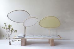 """The Timber Daybed entitled """"A Space to Think"""" by Viennese-based design studio chmara.rosinke wins our award for Best Interior Project. Japan Design, Futuristisches Design, Studio Design, Outside Furniture, Home Furniture, Wooden Daybed, Sofas, Couches, Best Interior"""