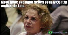 A mulher do ex-presidente Lula, Dona Marisa Letícia, pode deixar de responder pelos crimes pelos quais é acusada em dias ações penais na...