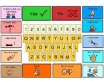 Alphabet Communication Board –
