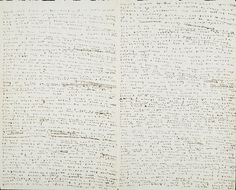 Famous notebooks: Charlotte Bronte, 1836.