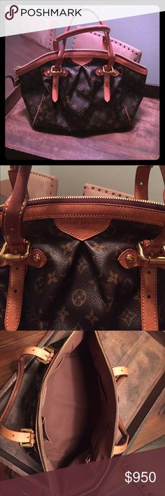 Louis Vuitton Tivoli GM Handbag Tivoli GM (larger one). Gently used condition. Slight handle discoloration/ wear from use. Nothing major. No stains/spots on interior. Small grayish spot on lower left of bag. See all additional photos in other listings for more detail. Awesome large interior pocket. Date Code SD0143. Dust bag included! Louis Vuitton Bags Shoulder Bags