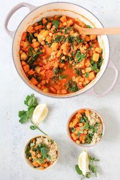 Kichererbsen-Grünkohl-Süßkartoffel-Eintopf © Heavenlynn Healthy