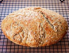 Fermented Oat Sourdough with Spelt and Einkorn
