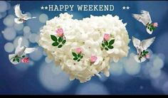 Hello everybody,it's the Weekend ,enjoy it as much as you can ...xxx Bon Weekend, Happy Saturday, Happy Day, Happy Weekend Pictures, Happy Wishes, Islamic Images, Flower Quotes, Scripture Quotes, Decir No