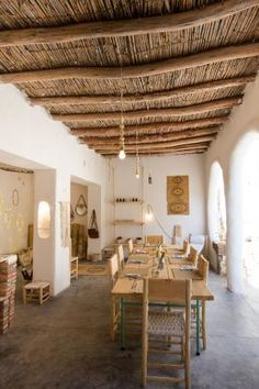 Home Decorating Websites Free Referral: 5668961761 Marrakech Restaurant, Deco Restaurant, Restaurant Design, Mud House, Rest House, Interior Architecture, Interior And Exterior, Interior Design, Bamboo House Design