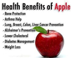 #HealthBenefits of #Apple #fitness #weightloss #asthma #healthcare #healthyliving