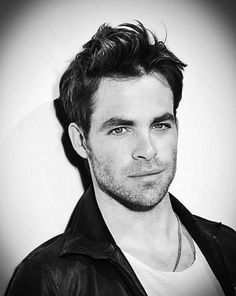 Chris Pine... hot and smart.  I need to find one of these for myself. :)