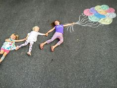 Getting carried away with a little side walk chalk on a sunny summer day! Chalk Photography, Chalk Pictures, Babysitting Fun, Side Walk, Fathers Day Photo, Chalk Ink, Sidewalk Chalk Art, Chalk Drawings, Chalkboard Art