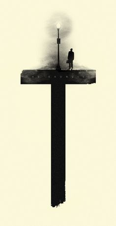 Fan art de El Exorcista.