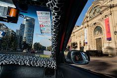 """Daniel Duart """"Cities from a taxi"""" - Santiago de Chile"""