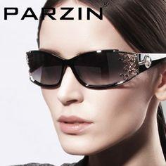Parzin Women Sunglasses Polarized Female Sun Glasses 2013 Elegant Lace Sun Glasses With Box 9218