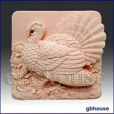 2D Silicone Soap MoldThanksgiving Turkey  Free by egbhouse on Etsy, $32.00