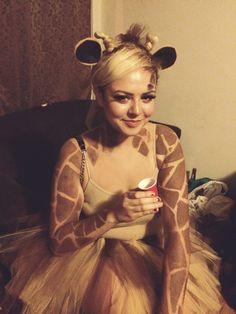 Giraffe Kostüm selber machen | Kostüm Idee zu Karneval, Halloween & Fasching