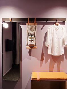 Alex Hotel by Arent&Pyke Alex Hotel, Guest Room Essentials, Flat Interior Design, Theme Hotel, Retail Interior, Hotel Interiors, Hospitality Design, Modern Kitchen Design, Retail Design