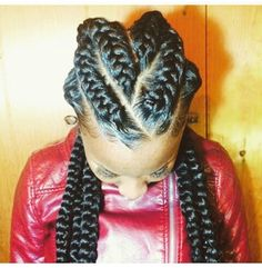 Love this!   Goddess Braids