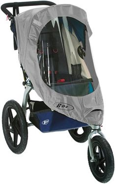 Baby Stroller / Accessory: Bob Weather Shield for Single Revolution/Stroller Strides Models, Gray -- Find out more about the great product at the image link.
