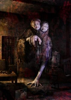 Twin Victims Silent Hill 4 The Room Silent Hill Series, Silent Hill Art, Creepy Horror, Creepy Art, Creepy Images, Creepy Pictures, Arte Horror, Horror Art, Evil Dead