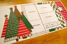 scrapbook christmas layouts | Christmas Scrapbooking Layouts