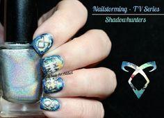 #Shadowhunters Nail Art by I'm A Nail Art Addict!