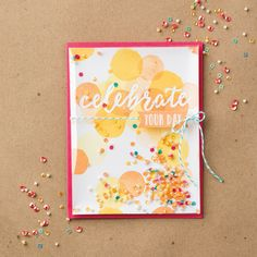 Happy Celebrations Photopolymer Stamp Set