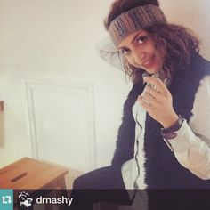 One happy customer :):) <3 <3 #Repost @drnashy with @repostapp.・・・My Yaknit wool headband is keeping me warm with style.. Mine is light pink, beige and grey customise yours from @yarknit and enjoy the cozy feeling.. #wool #handmade #headband #hair #accessory #stylish #warm #woolwear #winterwear #yarkit #fashion #beamman. @poosh you rock