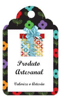 Tags para Produtos artesanal
