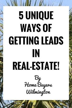 """Sometimes in real-estate, getting business can simply boil down to doing what the competition isn't. Lately it seems that it's getting more and more difficult to produce leads via Facebook. Once word get's out that a particular way of getting business works, it almost seems like there's a """"gold rush"""" that renders that lead generation … Continued"""