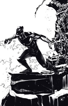 Black Panther - Kevin Myers