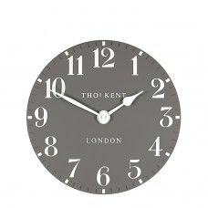 Thomas Kent A perfectly proportioned wall clock painted in subtle home furnishing tones with contrasting numerals and hands. It is designed to tastefully add an accent of colour anywhere in the home. Wall Clock 50cm, Thomas Kent Clocks, Teal Wall Clocks, Wall Clock Painting, Wall Art, Skeleton Wall Clock, London Clock, Clock For Kids, Wall Clock Online