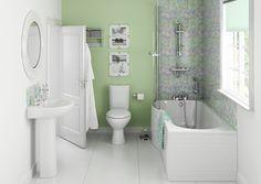 Dew Shower Bath Suite