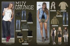 Militar - Tennis Magazine Diciembre 2012 www.tennis.com.co Tennis Magazine, Jeans, Grunge, Fat, Going Out Clothes, Clothing Stores, Woman Clothing, Jackets, Shirts