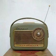 antigua radio nordmende clipper